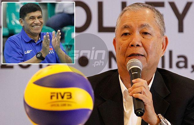 LVPI president Romasanta defends PH coach Gorayeb over accusations of favoritism