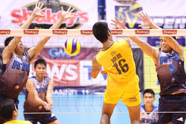 FEU Tamaraws fight back from two sets down to beat RTU Thunder in V-League