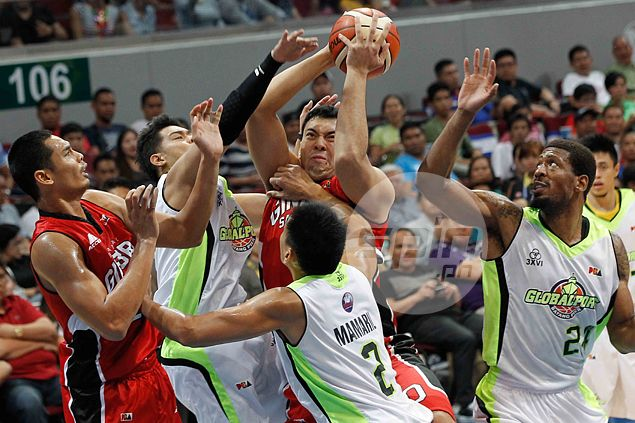 Small steps for Ginebra giant as Greg Slaughter slowly but surely gets groove back