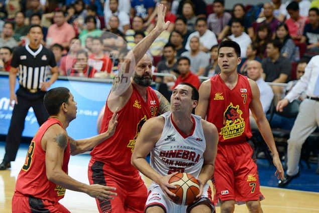 Greg Slaughter inconsolable after Ginebra loss as career game goes down the drain
