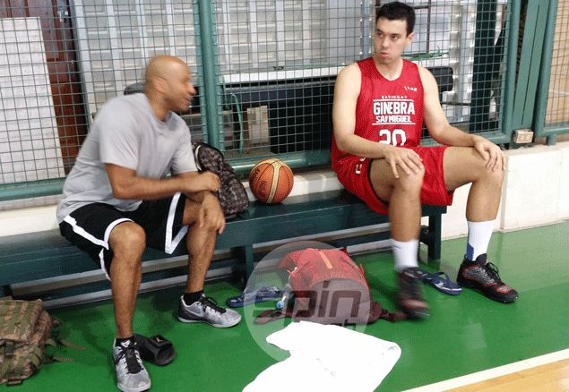 Are Greg Slaughter and Japeth Aguilar 'lazy and soft?' Ginebra skills coach begs to disagree