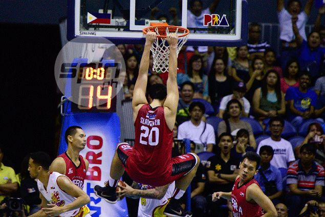 Greg Slaughter hopes Ginebra would play like Rain or Shine: 'That's what we need to be'