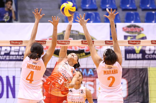 PLDT looks to sweep Meralco; FEU Tamaraws try to finish off RTU Thunder
