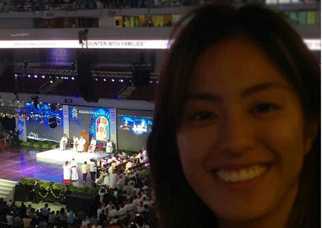 Gretchen Ho responds to critics who questioned her presence at Pope Francis' MOA 'event for poor'