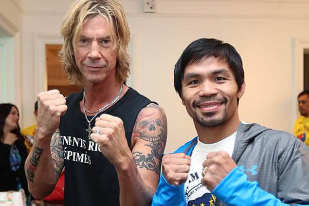 Boxing icons, AI winner bring in star power as PacBradley III competes with Guns N' Roses concert