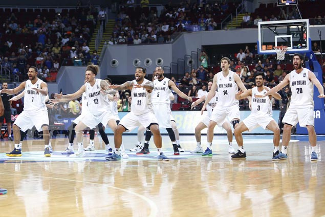 NZ manager lauds Gilas for being 'hugely respectful' of haka dance, bears no ill will toward booing fans