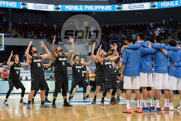 Mixture of boos, cheers as NZ Tall Blacks perform haka war dance before Gilas game