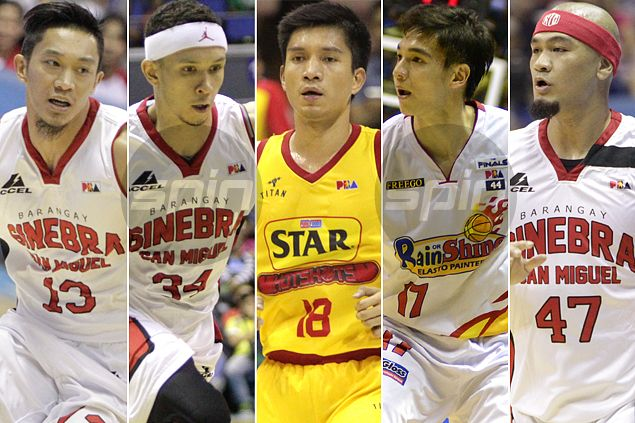 Yap, Caguioa, Tiu, Helterbrand or Ellis: Who owns the best-selling PBA jersey?