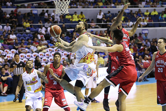 Rain or Shine sweep puts another disappointing end to Ginebra campaign