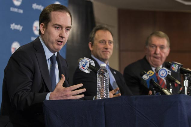 Sixers move forward with rebuilding process following Sam Hinkie's resignation