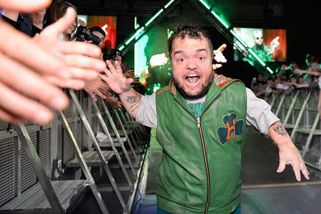Hornswoggle hit with 30-day ban for violating WWE's wellness program