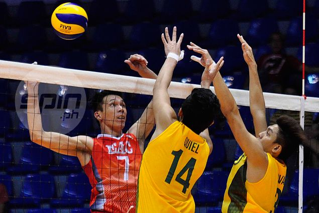 EAC Generals fight back from a set down to beat FEU Tamaraws in Spikers Turf