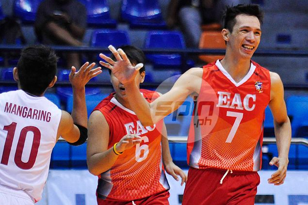 Howard Mojica leads way anew as EAC Generals down NCBA Wildcats to stay unscathed in Spikers Turf