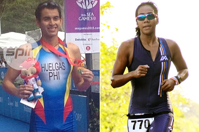 PH triathlon officials counting on Nikko Huelgas, Claire Adorna to repeat as SEA Games champions