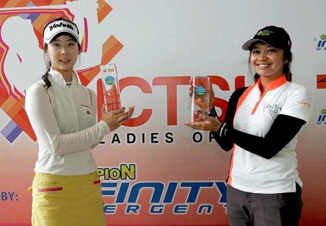 Korean Hwang lifts PH Ladies Open title as Princess Superal's late charge falls short