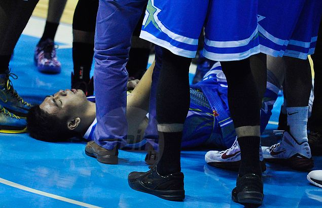 Ian Sangalang left devastated as scan confirms partial tear on ACL and MCL in knee