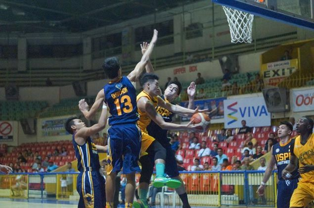 Shooster Olago, Charles Pepito post double-doubles as Cesafi leader USC whips winless USPF