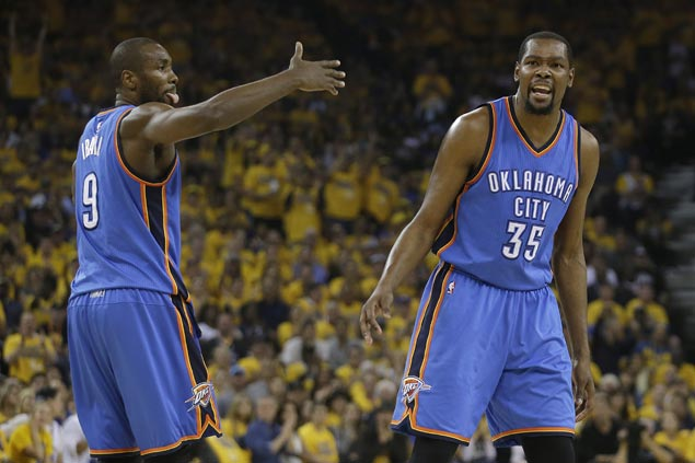 Ibaka trade confirmed as OKC bolsters roster to appeal to soon-to-be free agent Kevin Durant