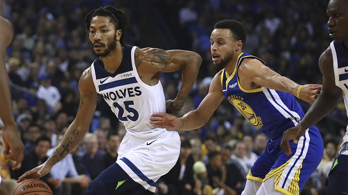 Two days after 50-point game, D-Rose has short night vs Warriors