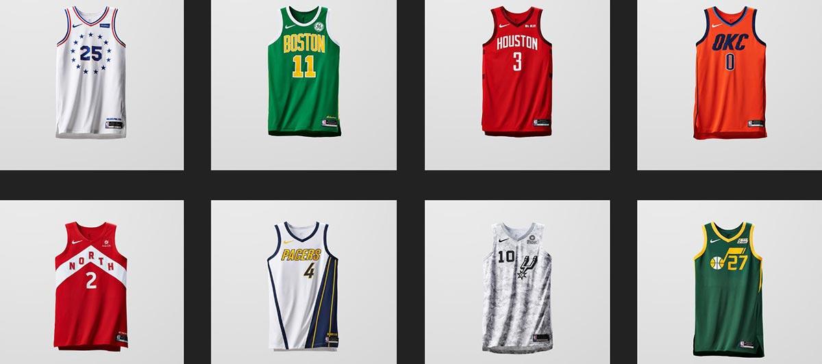 308eac9ce824 Nike NBA Earned Edition Uniforms