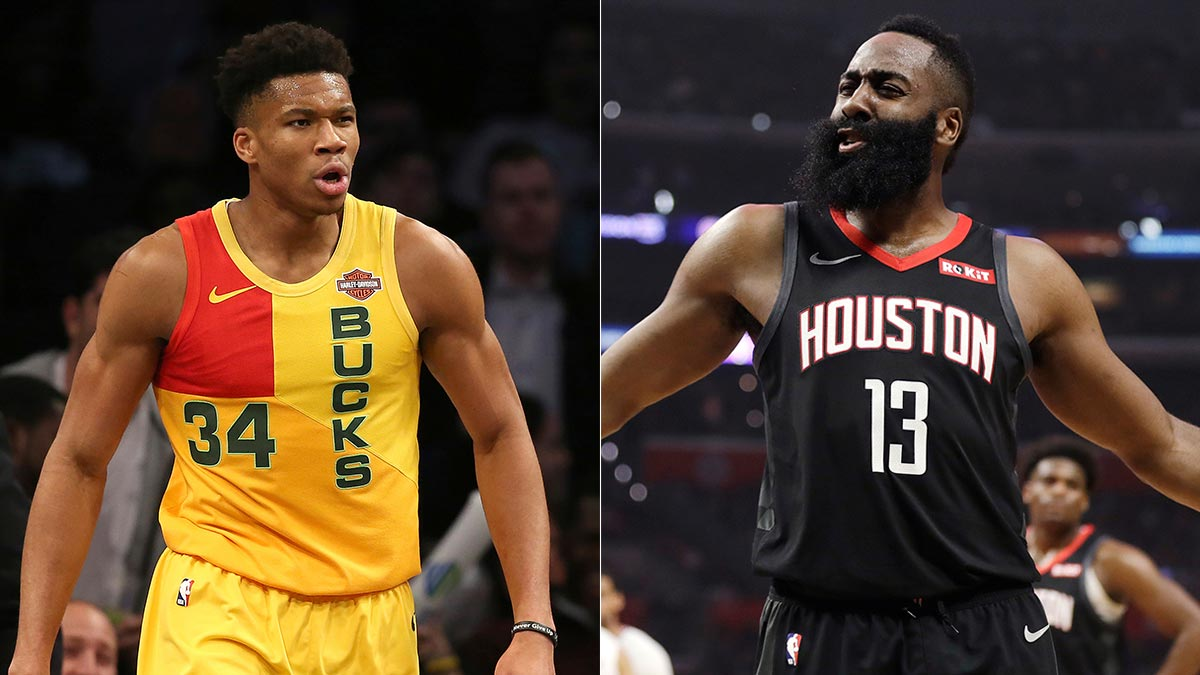 Antetokounmpo or Harden? Here's how battle for MVP, other awards