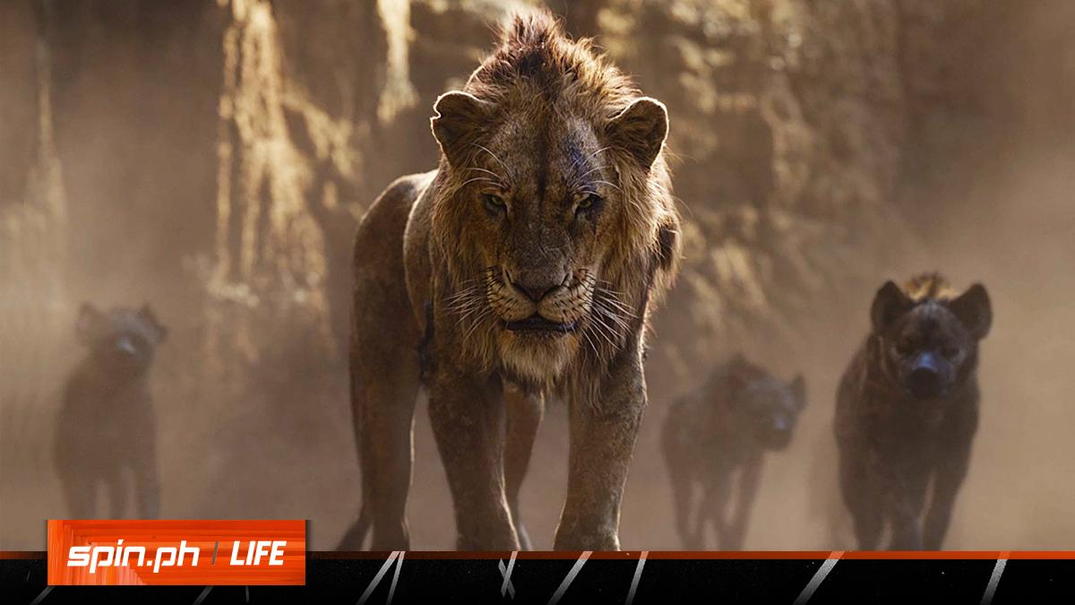 Lion King On Spinph