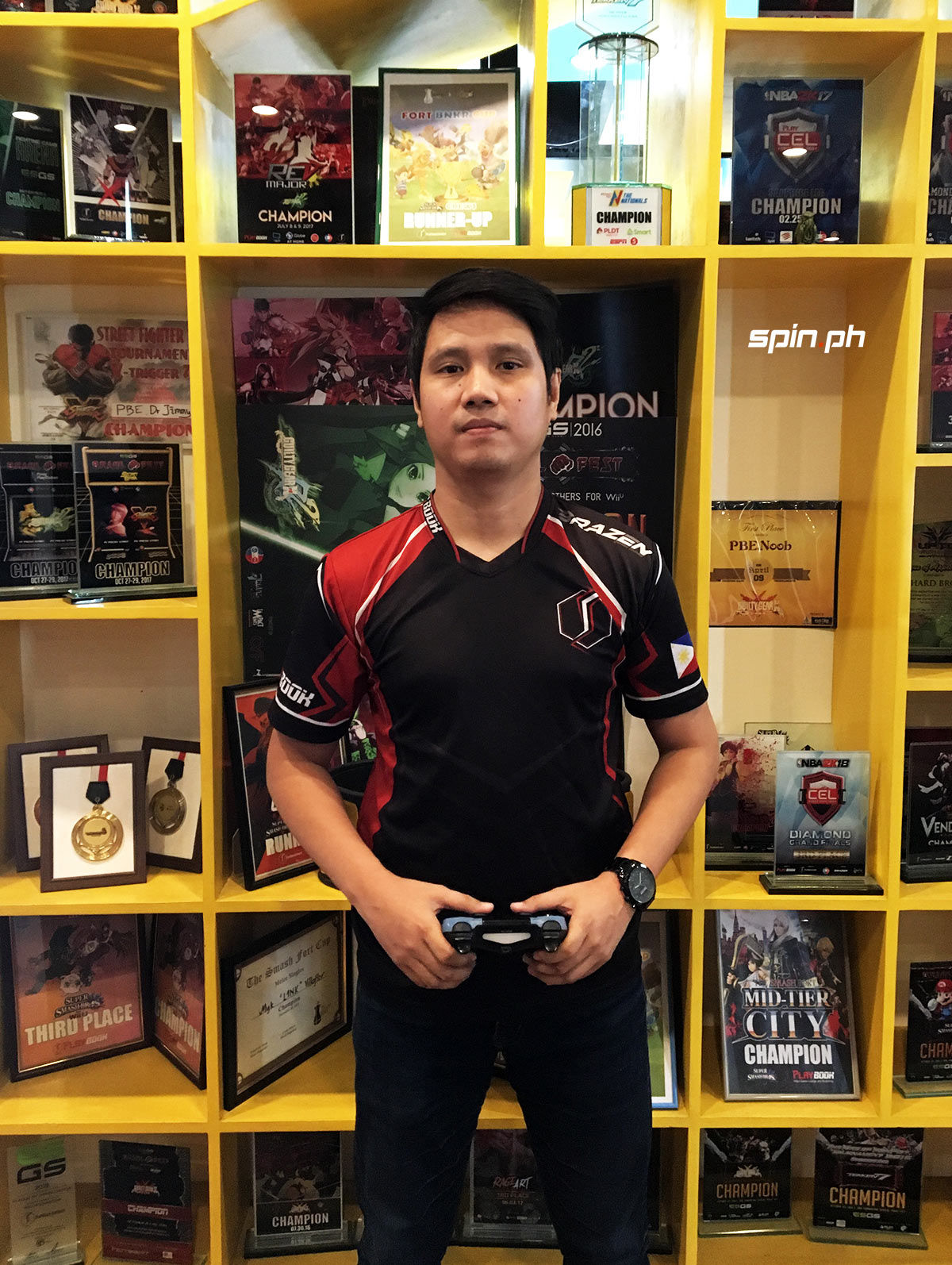 Rial Polog Jr  wants to become the first Filipino to make it to the