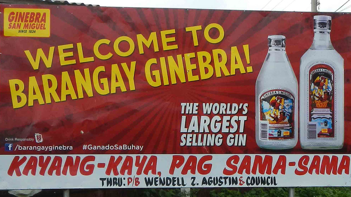 Ginebra San Miguel on SPIN ph