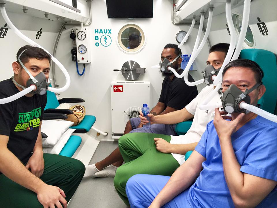 hyperbaric therapy for PBA stars
