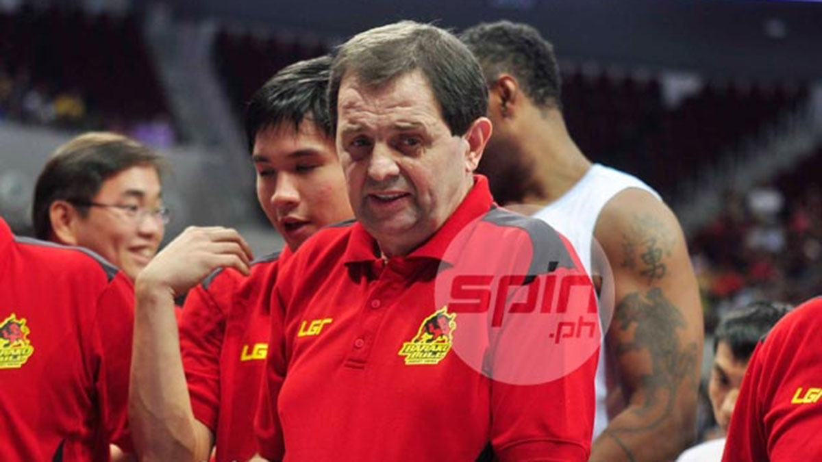Rajko Toroman foreign coaches in PBA history