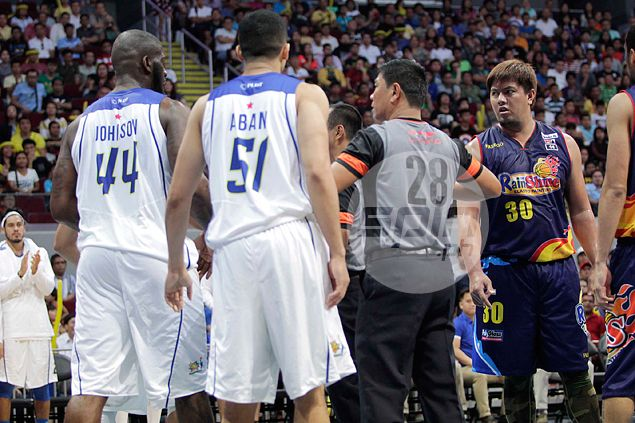 Talk 'N Text import Ivan Johnson hit with P150,000 fine for 'unsportsmanlike' bump on Yeng Guiao