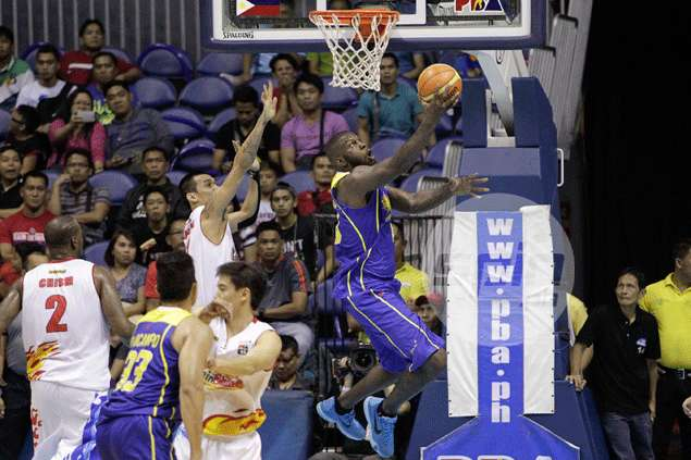 Uichico feels TnT import Ivan Johnson became too 'careful' after being slapped P150,000 fine