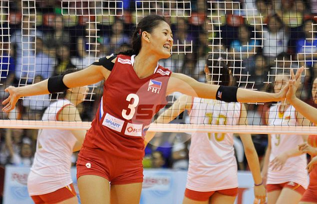 Jaja Santiago catches eye of China star after turning in best performance for Philippines