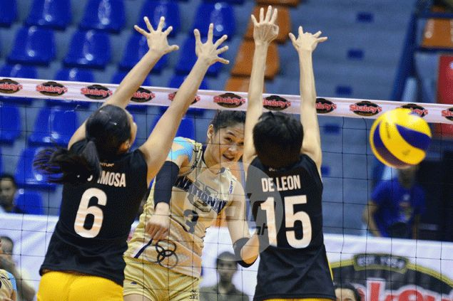 Lady Bulldogs put an end to Tigresses' winning run to seize solo second in V-League