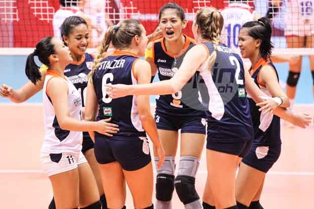 Jaja Santiago shows way as Foton dumps RC Cola for fourth Super Liga win in a row
