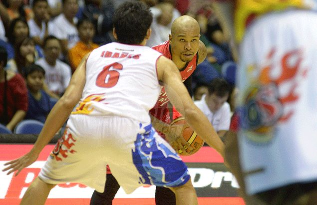 James Forrester a silver lining in Ginebra defeat as he seizes chance to shine
