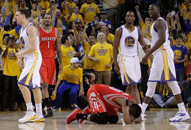 McHale on late Harden fumble:I'll take our best player heading downhill on a broken court any day of week'