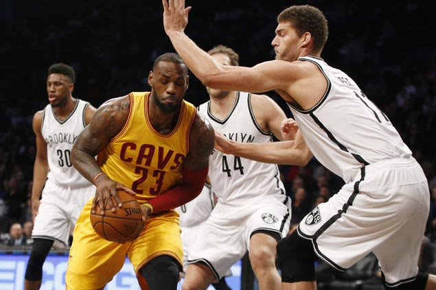 Brooklyn spoils big game from LeBron James as Nets arrest three-game slide with upset over Cavs