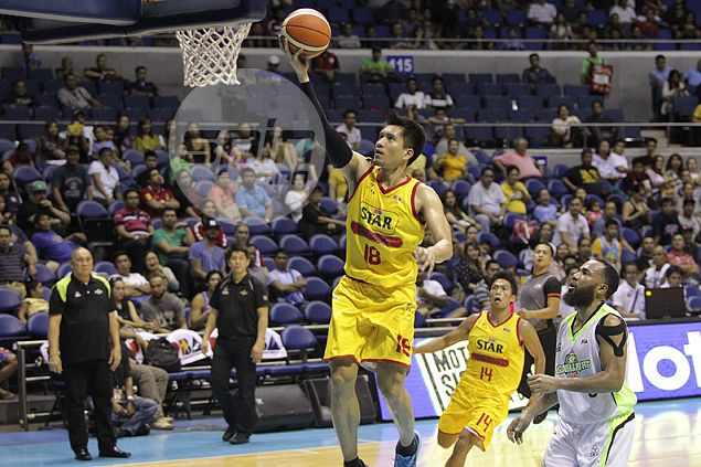 James Yap glad to showcase renewed vigor with rare dunk: 'Lagi ko pina-practice eh'
