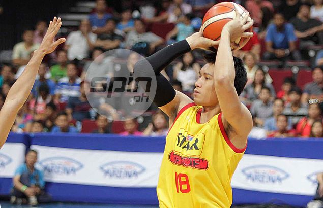After one big game for Star, James Yap insists online criticism never a source of motivation