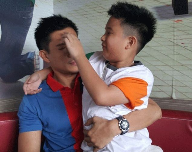 Like father, like son? James Yap glad to see son Bimby take interest in basketball