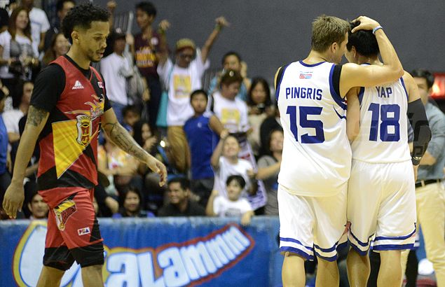 Desperate Tim Cone turns to 'zone buster' James Yap to rescue Purefoods in OT