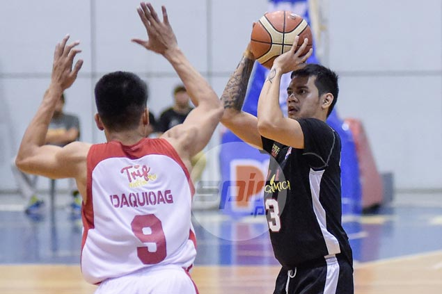 Racal pulls away late to hand Phoenix first loss in D-League despite return of Mac Belo