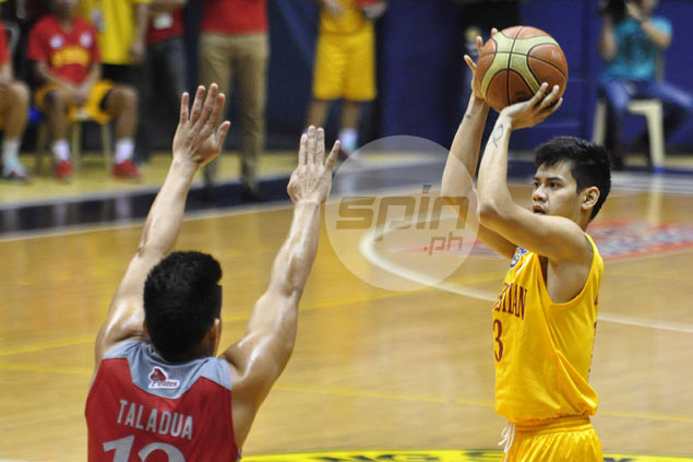San Sebastian guard Jamil Ortuoste claims he was kicked out of team by new coach Macaraya