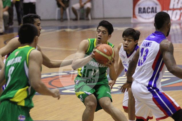 Rookie hopeful Jansen Rios credits football for developing his basketball skills