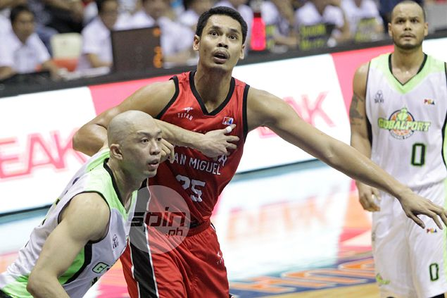Japeth Aguilar concedes Talk `N Text playing better as a team than Ginebra heading to KO match