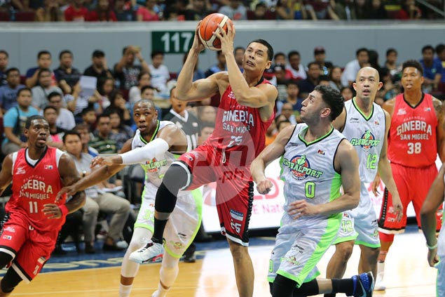 Japeth Aguilar says outstanding play for Ginebra not a statement game after forgettable Gilas stint