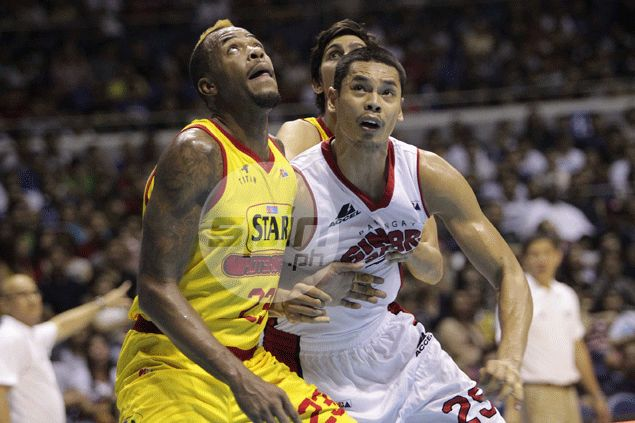 Japeth Aguilar disappointed as another solid showing for Ginebra goes down the drain