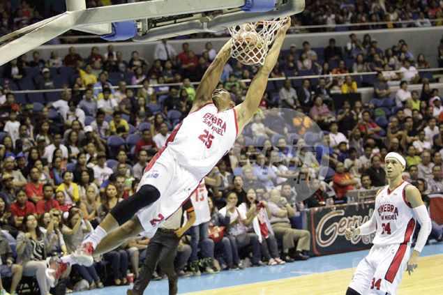 Better for Ginebra mistakes to come out now than in PBA playoffs, says Japeth Aguilar