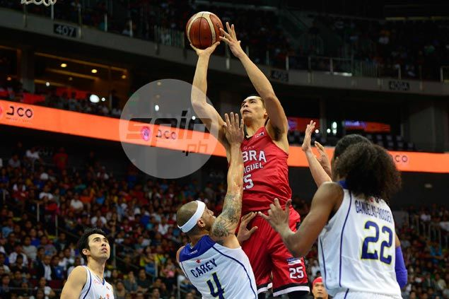 Japeth Aguilar rues late miscues almost cost Ginebra a win over Talk 'N Text